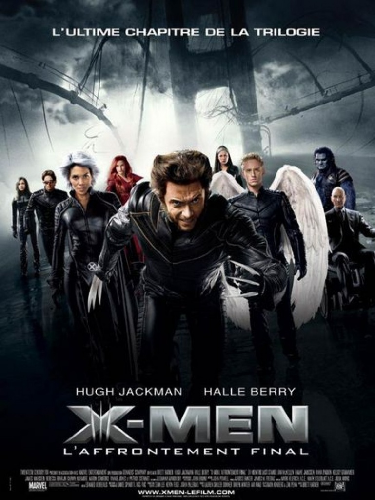 Affiche X-Men L'affrontement final en 2006