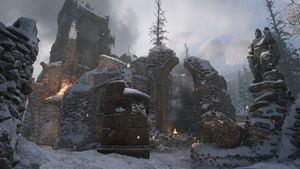 Ardennes Forest map call of duty wwii