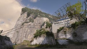 Gibraltar map call of duty wwii