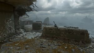 Pointe du Hoc map call of duty wwii