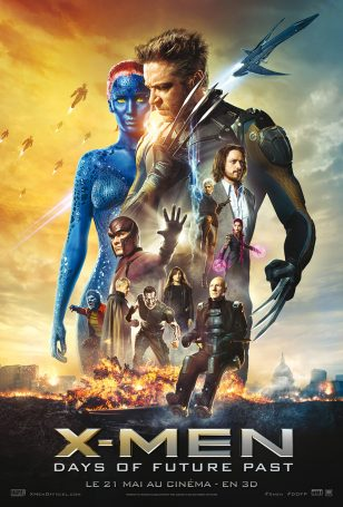 Affiche X-Men Days of Futur Past