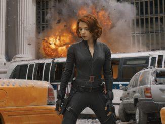Black Widow dans Avengers