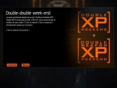 Week-end Double XP + Double XP d'armes jusqu'à lundi sur BlackOps 3