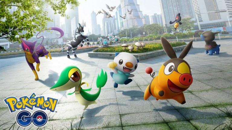 Pokemon GO : les premières fiches statistiques de la 5eme génération