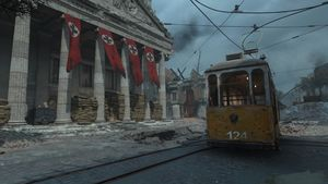 Aachen map call of duty wwii