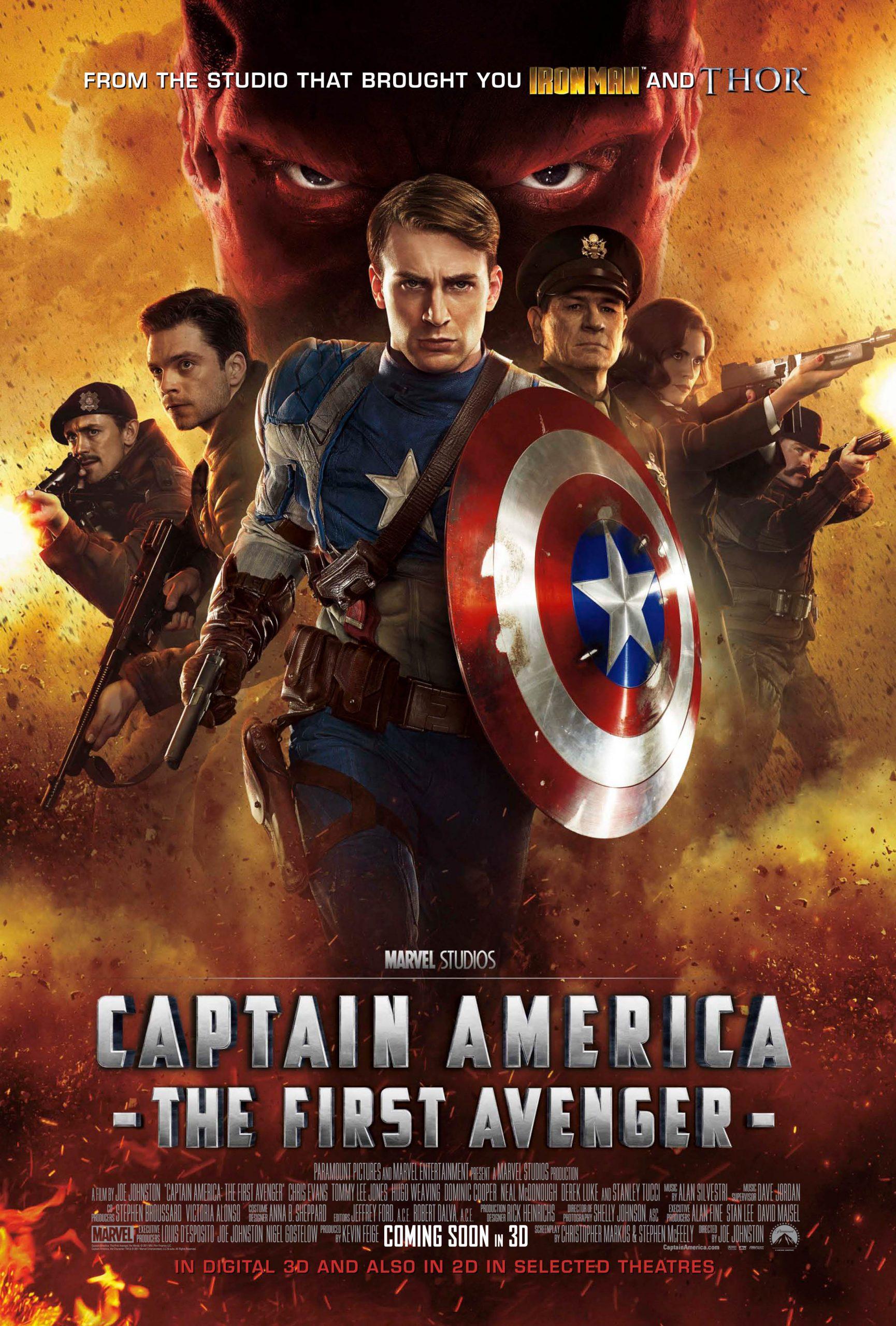 Affiche Captain America First Avenger