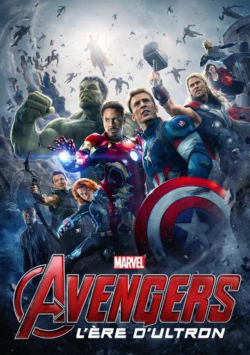 Affiche film Avengers : l'Ère d'Ultron