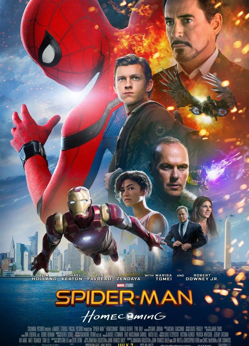 Affiche film Spiderman Homecoming