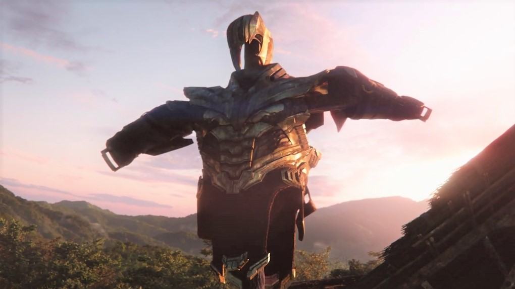Avengers Endgame armure