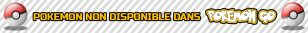 Bandeau pokemon not available