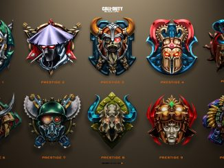 Call of Duty BO4 : les Prestiges Black Ops 4