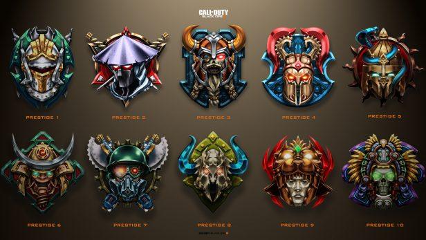 Prestiges Black Ops 4