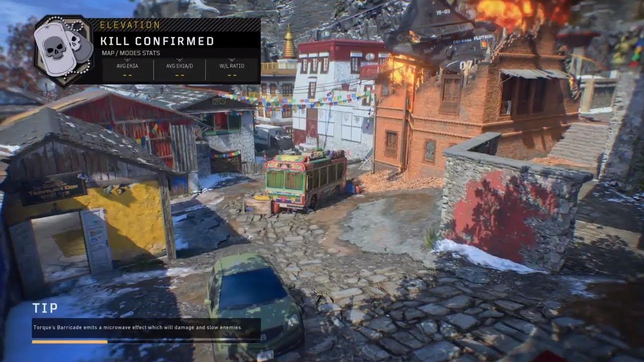 Black Ops 4 map Elevation