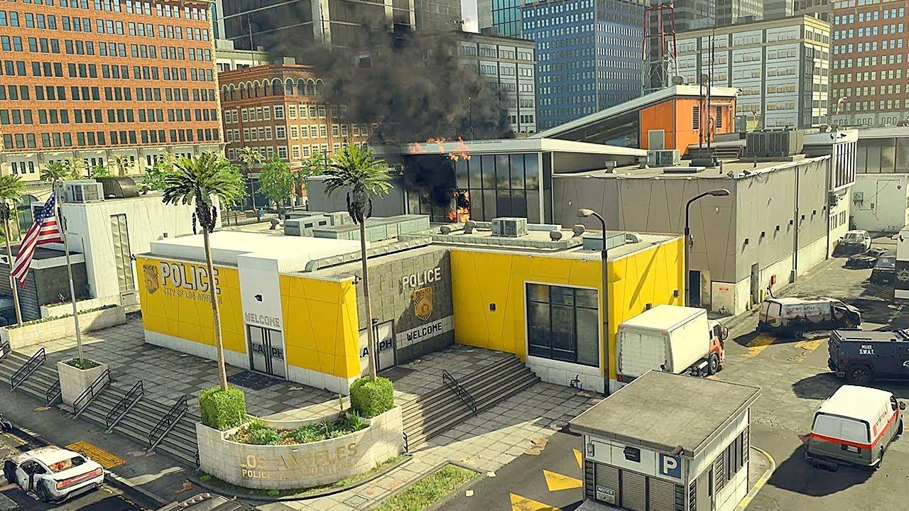 Black Ops 4 map Lockup