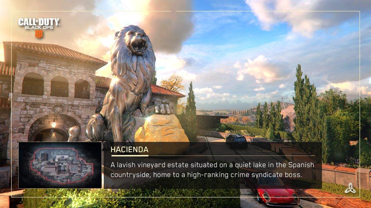 Call of Duty Black Ops 4 : les 19 maps du multijoueur
