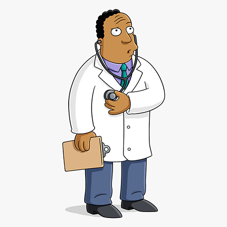 Personnage Docteur Julius Hibbert