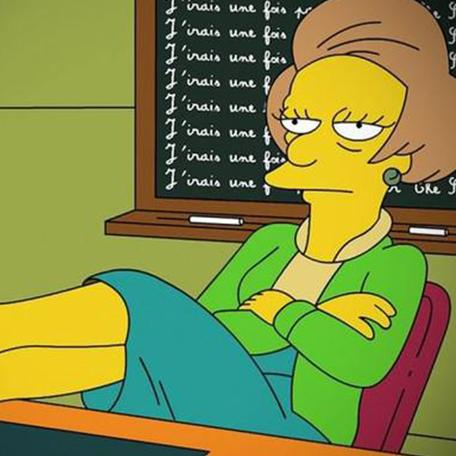 Personnage des simpson Edna Krapabelle