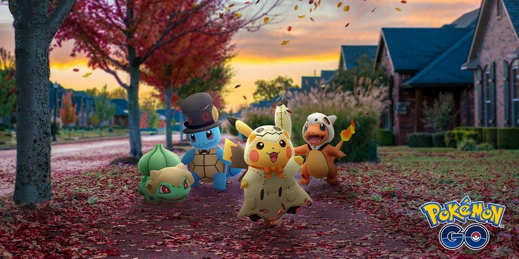 Les Bonus d'Halloween et un nouveau légendaire sur Pokemon GO