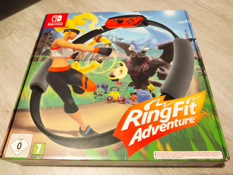 Ring Fit Adventure boîte de jeu