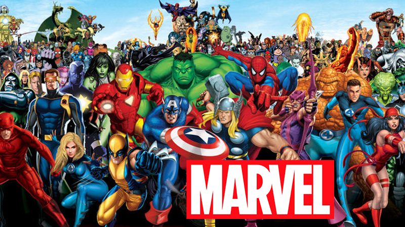 Marvel personnages