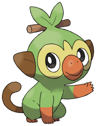 Pokémon starter génération 8 Ouistempo