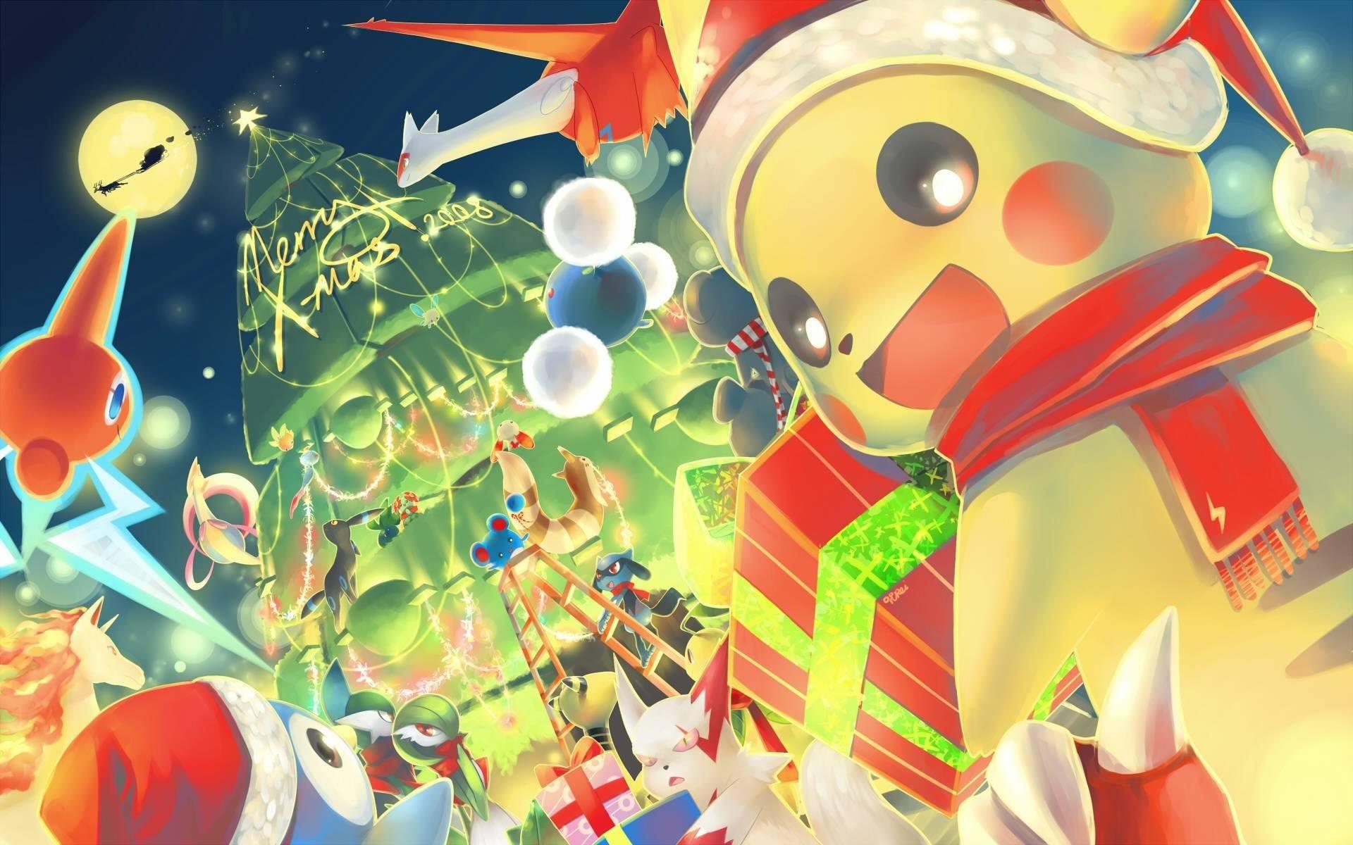 Pokemon GO : 3 nouveaux Pokemon à Noel + 1 nouveau Pikachu 6 + 3 shiny