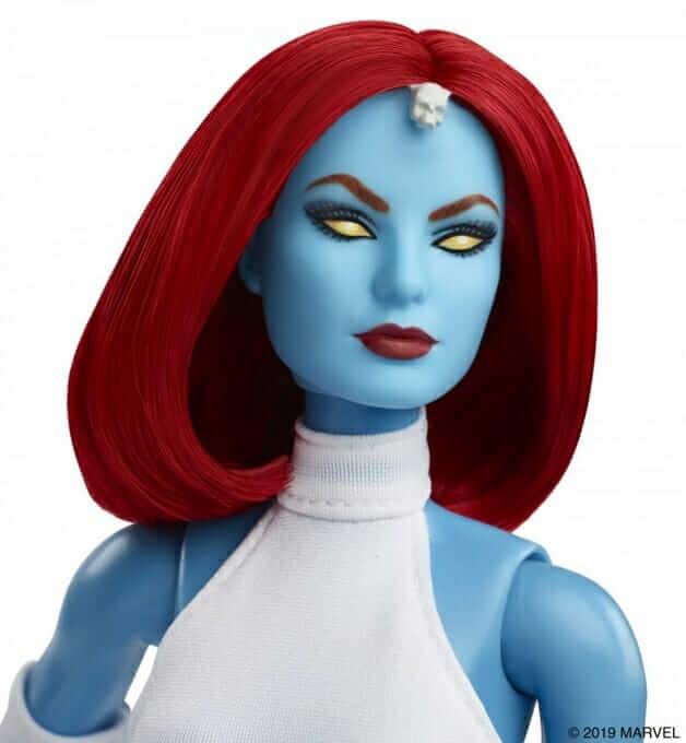 Pourpée Barbie X-Men Mystique