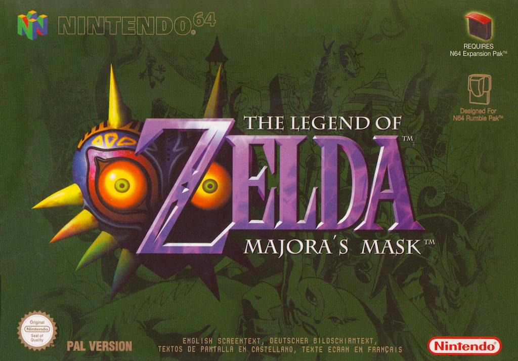 The Majora's Mask (N64)