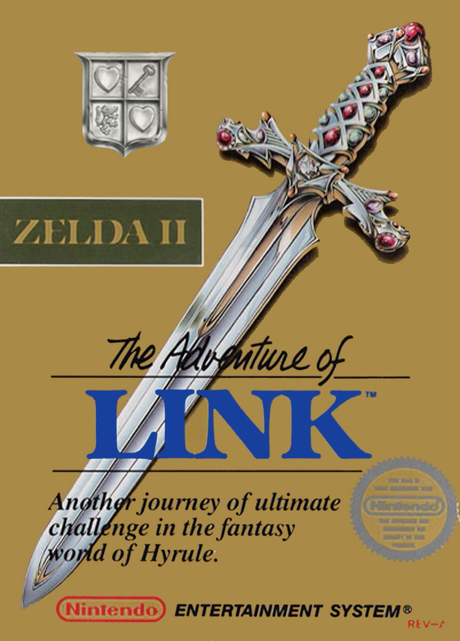 Zelda 2 : The Adventure of Link (NES)