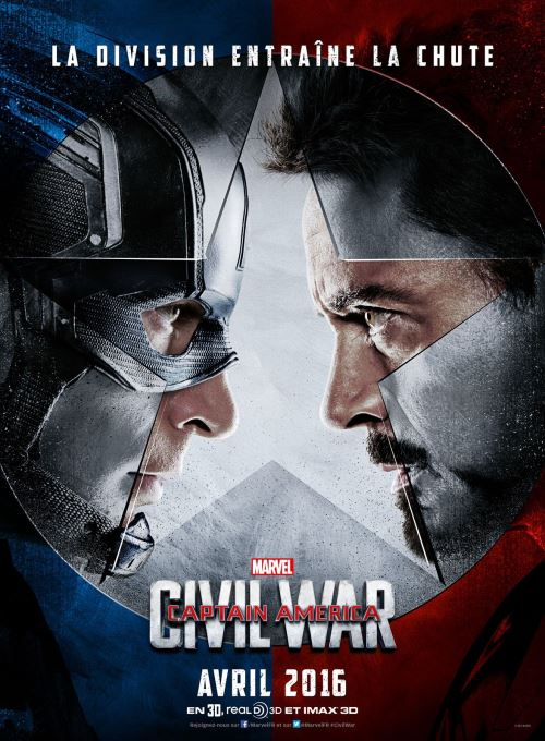 affiche captain america civil war