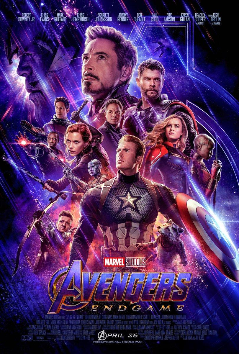 Affiche Avengers Endgame Poster