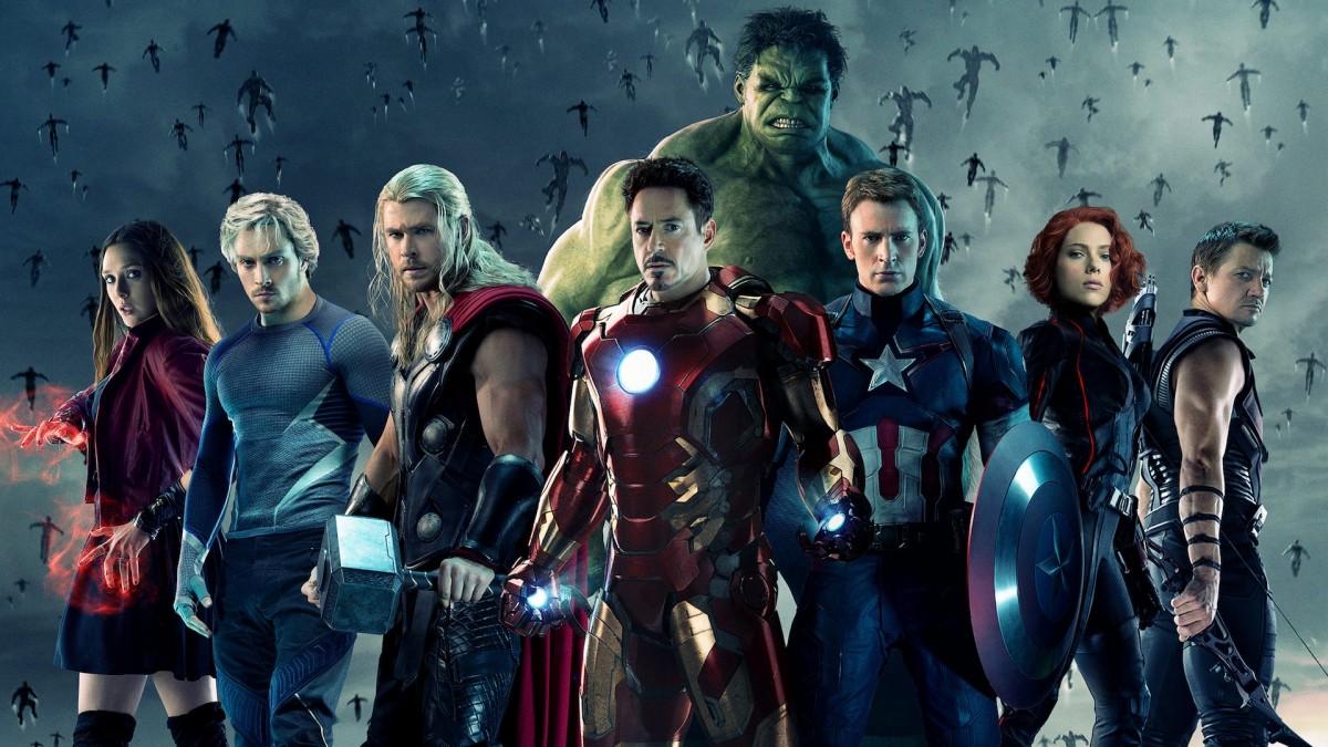 Avengers affiche héros