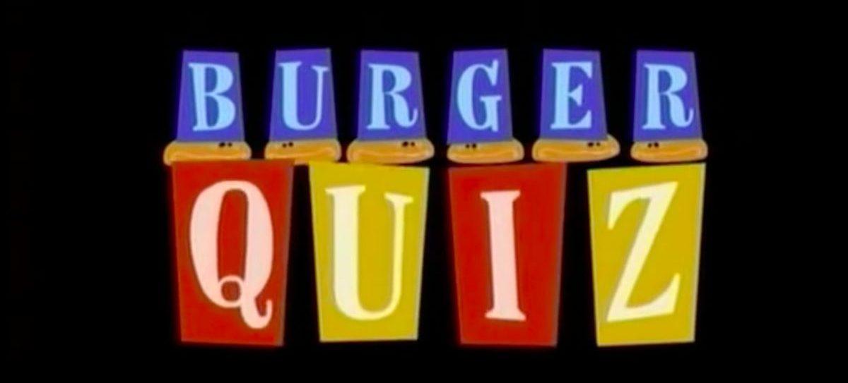 Emission Burger Quizz sur TMC