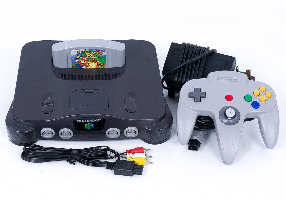 console Nintendo 64a