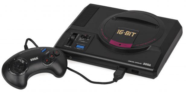 console Sega Mega Drive Genesis