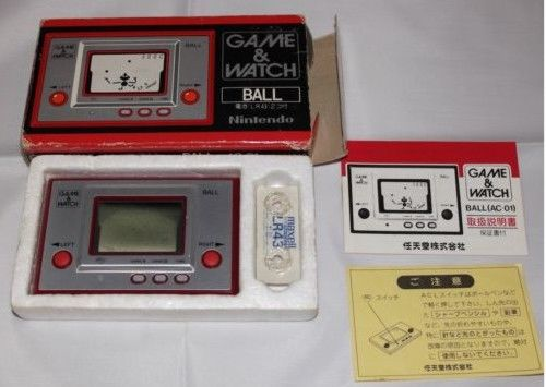 console portable game and watch