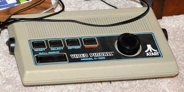 console video pinball d'Atari