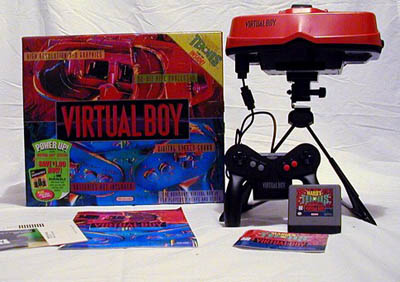 console virtual boy de Nintendo