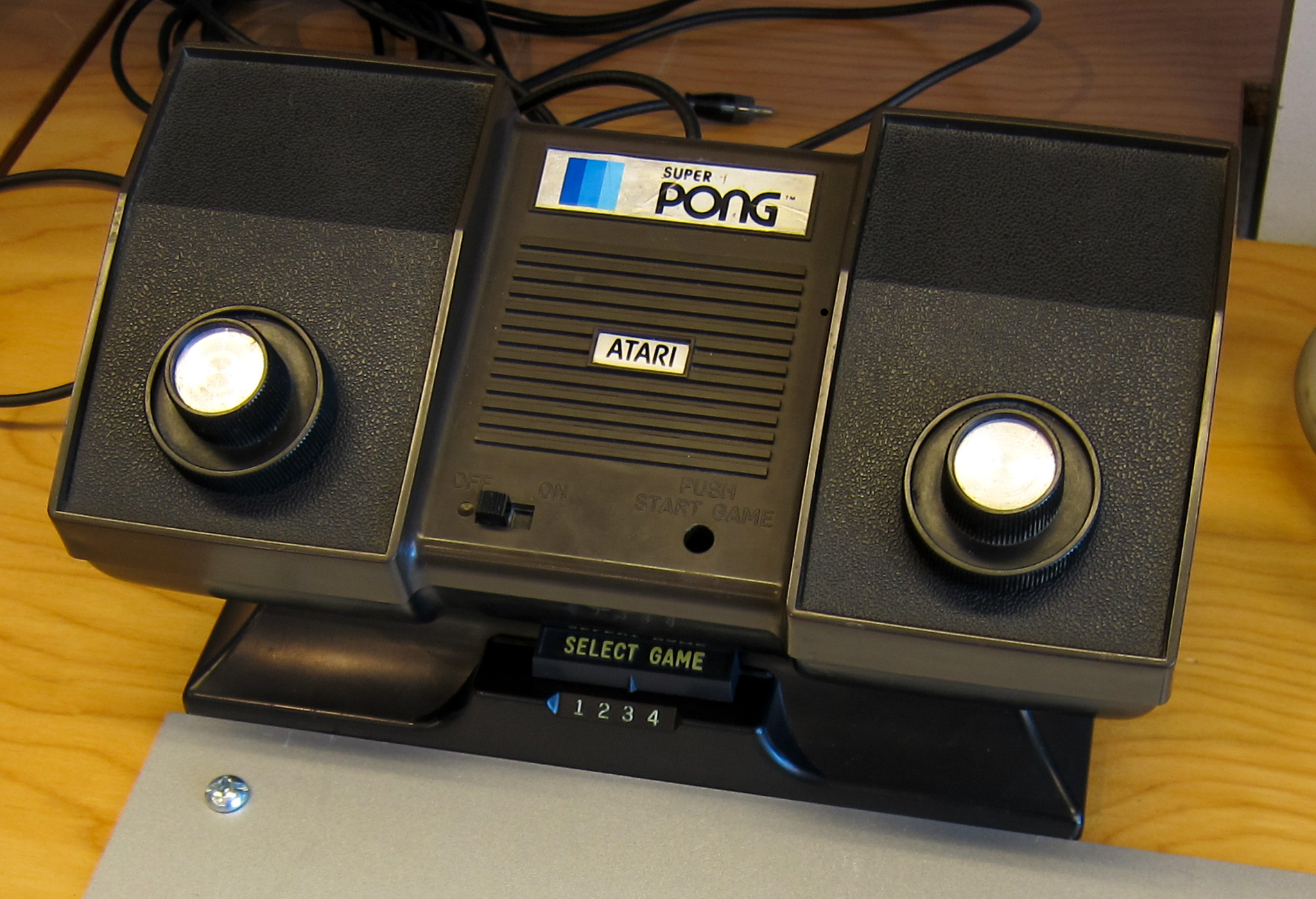 console Atari Super Pong