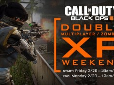 Nouveau Week-end double XP sur BlackOps 3 !