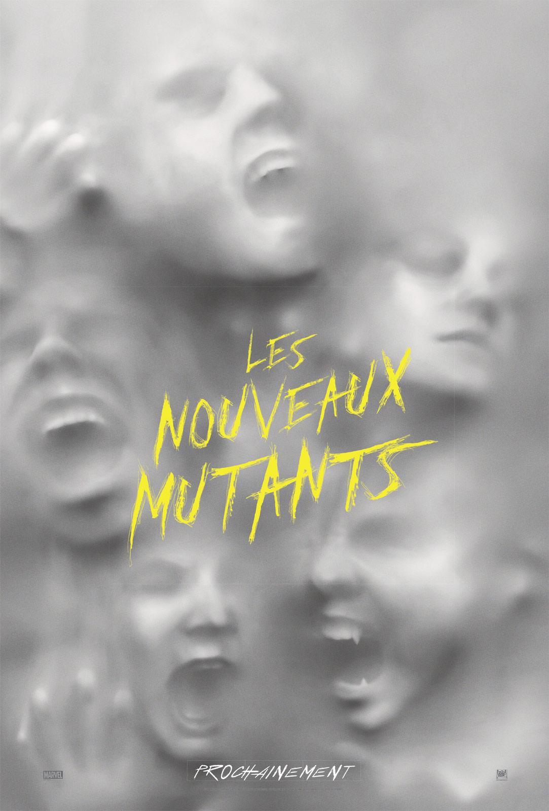 les nouveaux mutants affiche film marvel