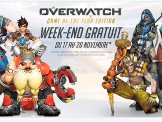 Overwatch :  c'est gratuit ce week end !!!