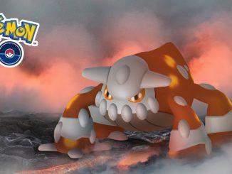Pokemon Légendaire Heatran sur Pokémon Go