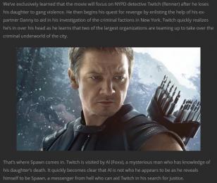 synopsis ddu film superbo movies du film Spawn
